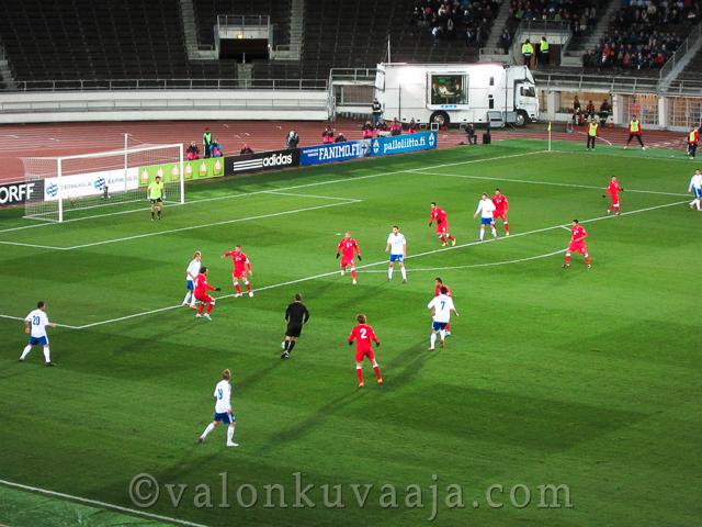 Suomi-Georgia MM-karsinta ottelu 12.10.2012