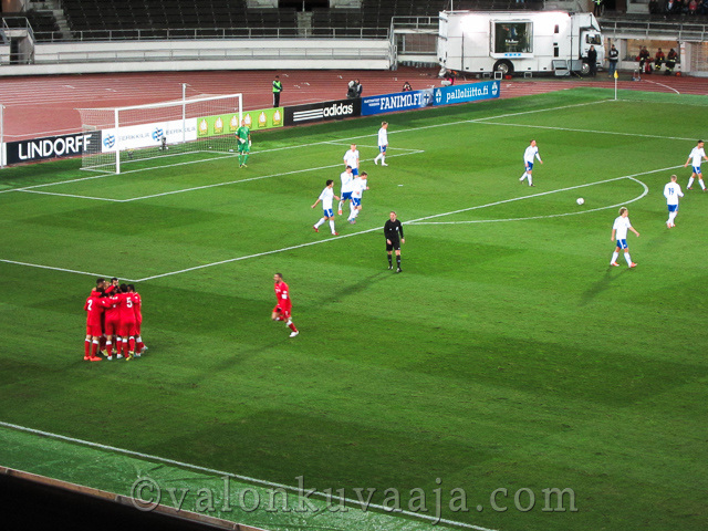 Suomi - Georgia MM-karsintaottelu 12.10.2012