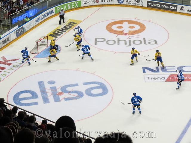 Karjala-turnaus Suomi - Ruotsi