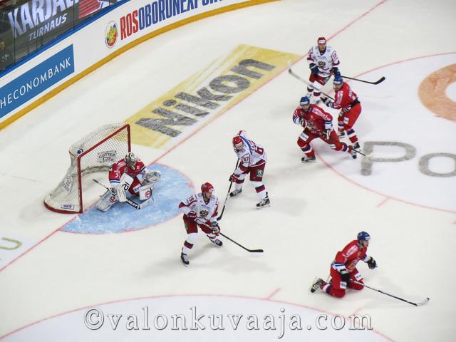 Karjala-turnaus Tsekki - Venäjä