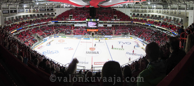 Karjala-turnaus: Tsekki-Venäjä. Kuvaaja: Markus Kauppinen