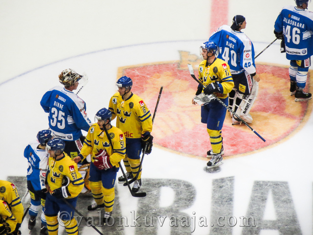 Karjala-turnaus 2012: Suomi-Ruotsi. Kuvaaja: Markus Kauppinen