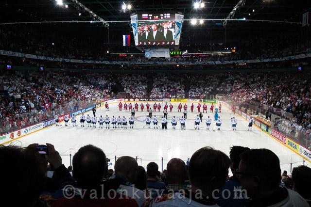 RUS 2 -FIN 3. IIHF 2013 - Helsinki, Finland. Kuvaaja: Markus Kauppinen