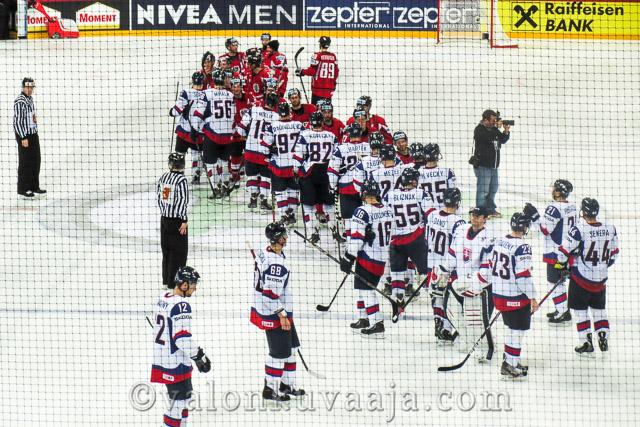 SVK 1 - AUT 2. IIHF 2013 - Helsinki, Finland. Kuvaaja: Markus Kauppinen