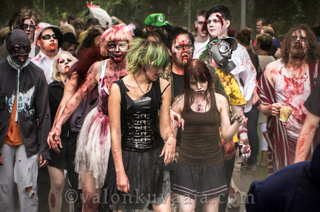 Hämeenlinnan Zombie Walk 2013. Valokuvaaja: Markus Kauppinen