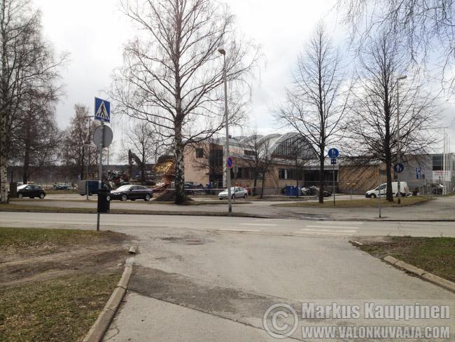 Hämeenkaaren purku 2016. Valokuvaaja: Markus Kauppinen