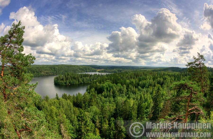 Lusikkaniemi, Aulanko. Kuvaaja: Markus Kauppinen