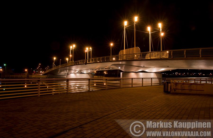 Aleksanterin silta. Valokuvaaja: Markus Kauppinen