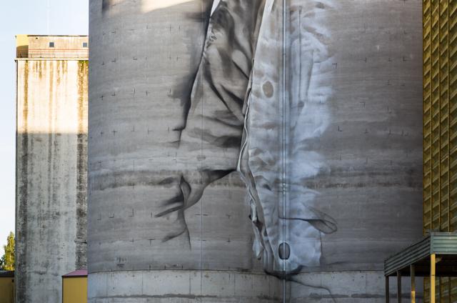 Guido van Heltenin muraali Kantolassa. Valokuvaaja: Markus Kauppinen