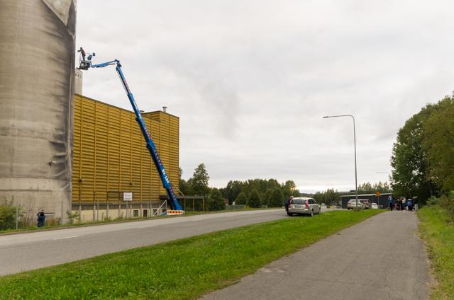 Guido van Heltenin Kantolan muraali. Valokuvaaja: Markus Kauppinen