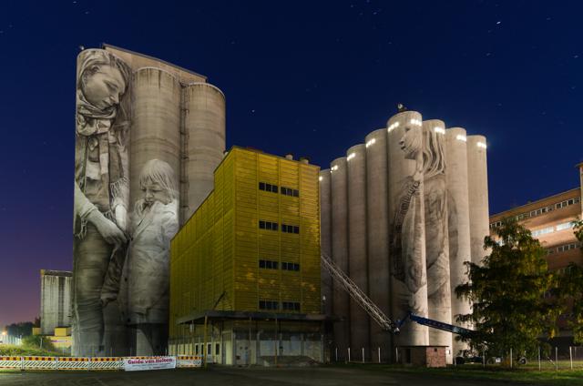 Guido van Heltenin muraalit Hämeenlinnassa. Valokuvaaja: Markus Kauppinen