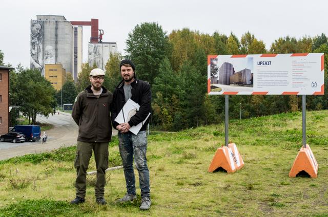 Guido van Helten ja minä.