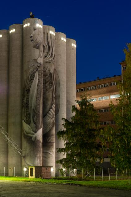 Guido van Heltenin muraalin toinen osa valmis. Valokuvaaja: Markus Kauppinen